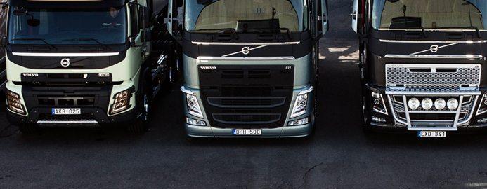 Volvo lastvagnar nyanstaller 6