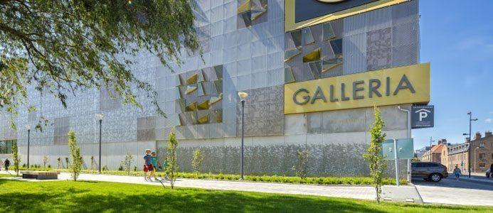Foto på Galleria Boulevard i Kristianstad