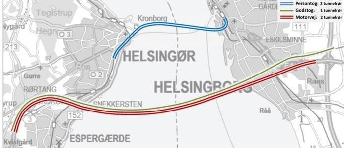 HH-förbindelsen Helsingborg Helsingör
