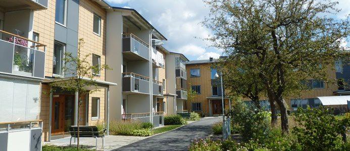 Miljonprogrammet Brogråden i Alingsås renoveras med Passivhusteknik