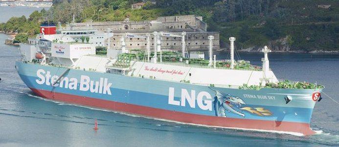 LNG-fartyget Stena Blue Sky