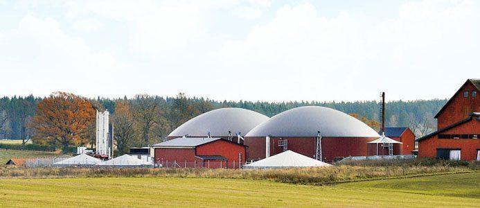 Bild på Biogasanläggning Sverige, regeringen budget satsning