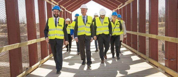 Bostadsminister Kaplan på besök i Linköping
