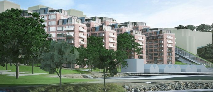 Nacka Strand BSK arkitekter