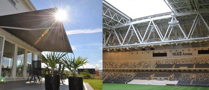 Solskyddsförbundet Solskydd Tele2 Arena