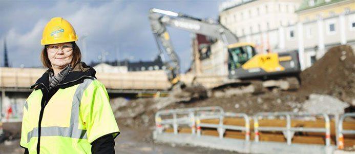 Håll nollan heter det nya initiativet som ska få stop på skadorna inom byggbranschen. På bild Ulrika Dolietis, vd Håll nollan. Bildkälla: Håll nollan