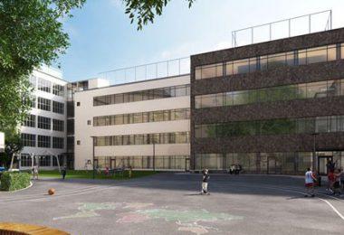 Så här kommer ombyggnation skolgården hos Vasa Real att se ut. Bilden är en Illustration. Källa: Stockholms stad