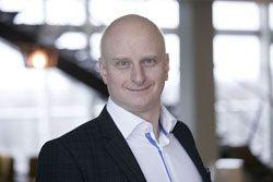Henrik Brodin, projektledare för Ett fossilfritt Södra/Project Manager for 'A Fossil-Free Södra'. Fotograf: Henrik Björnsson