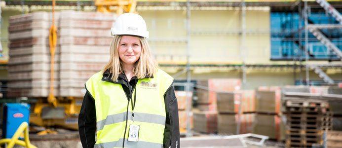 Jenny Rydén, processledare & hållbarhetsansvarig på Varbergs Fastighets AB. Foto: Marie Hidvi