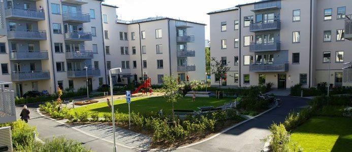 JM fortsätter sin satsning på nytt kvarter i centrala Gustavsberg. Bild: JM