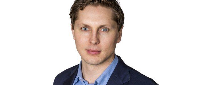 Johan Lindahl, talesperson på Svensk Solenergi. Bild: Svensk Solenergi