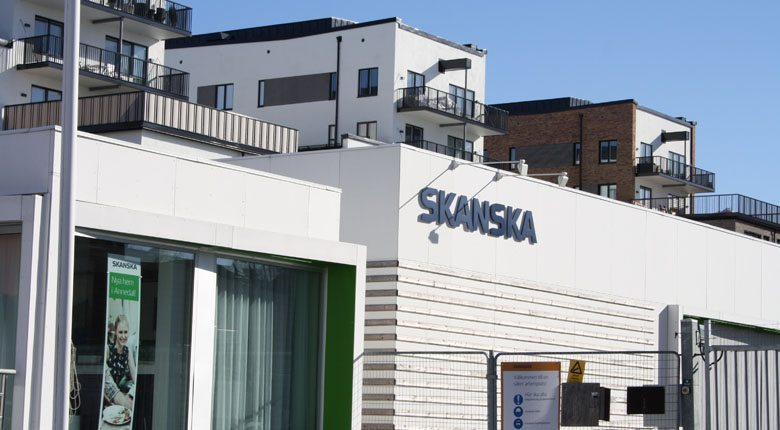 Foto på ett av Skanskas kontor