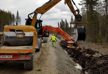 Just nu har Ellevio 16 projekt igång på olika håll i Gävleborg. Foto: Ellevio