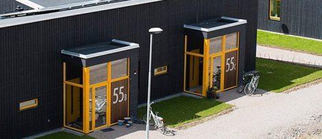 Skanskas nollenergiprojekt Solallén, Växjö. Bildkälla: Skanska