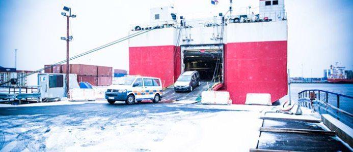 HallandsHamnar satsar 60 miljoner på klimatanpassning av Halmstad hamn. Bild: HallandsHamnar