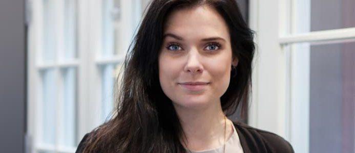 Heidi Ekstrand, VD för Ekstrands Dörrar & Fönster AB. Bild: Ekstrands Dörrar & Fönster AB.