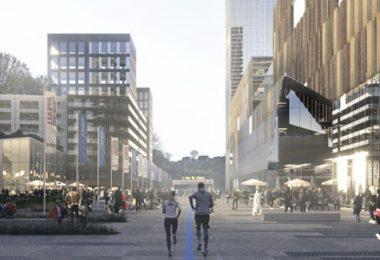 Arenatorget. Bildkälla: Plats för Göteborg
