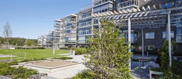 Riksbyggen bygger nya lägenheter i Stenungsund. Bild: Riksbyggen.