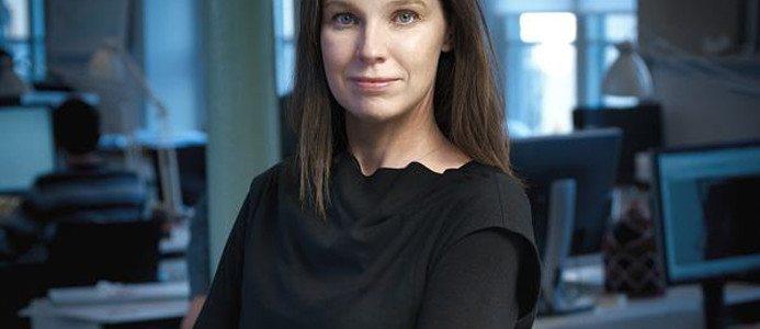 Charlotta Holm Hildebrand, branschchef för Sveriges Arkitekter.