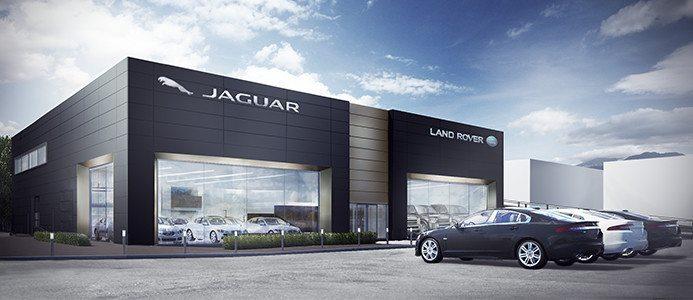 Hedins Bildhall byggs i Jaguar Land Rover koncept. Bildkälla: Jaguar-Land Rover