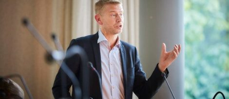 Peter Carlsson, vd Northvolt. Foto: Pia Nordlander