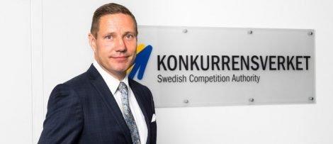 Rikard Jermsten, generaldirektör för Konkurrensverket.