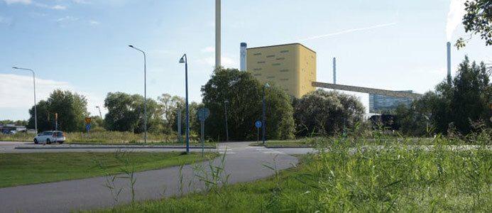 Mark- och miljödomstolen har beviljat miljötillstånd för den nya anläggningen i Västerås. Foto: Scheiwiller Svensson Arkitektkontor AB.