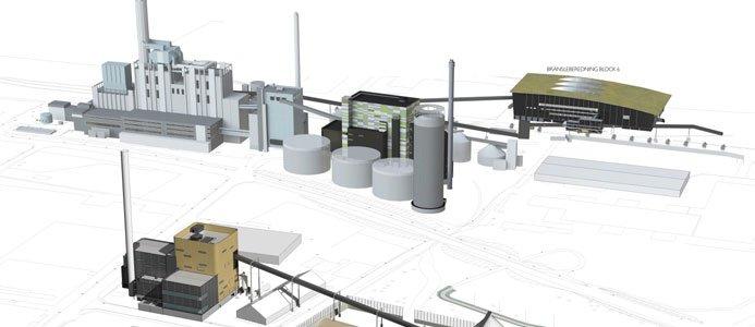 COWI projekterar kraftvärmeverk.