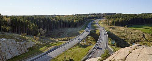 E6 genom Världsarvet, sträckan Pålen-Tanumshede Foto:Bert Leandersson