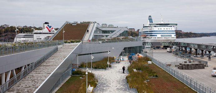 Värtaterminalen i Stockholm