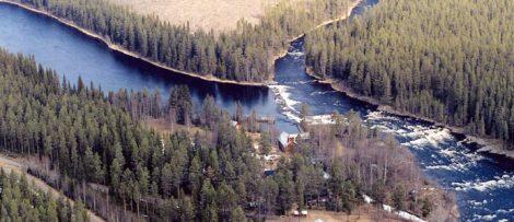 Långforsens vattenkraftstation