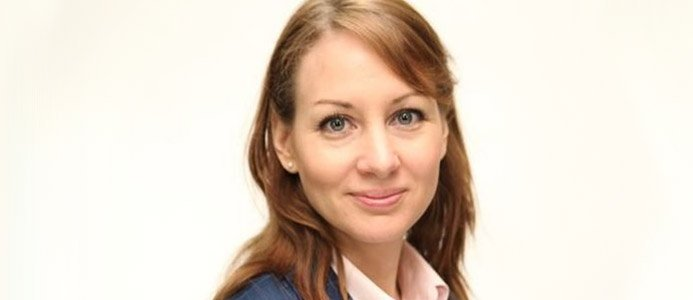 JESSICA ALM, Kommunikationsdirektör Sandvik. Bildkälla sandvik