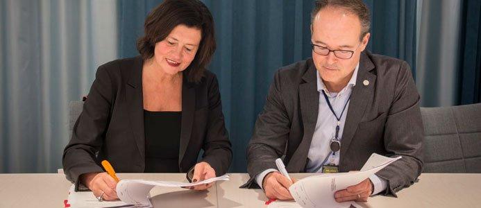 LFV och Swedavia tecknar avtal