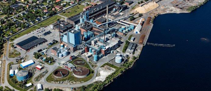 SCA:s fabrik i Obbola