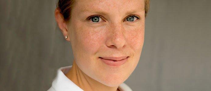 Sara Liljedal, presschef Atlas Copco. Bild: Atlas Copco