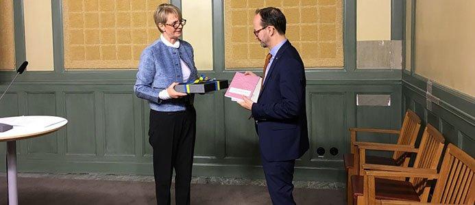 Sverigeförhandlingens slutrapport överlämnad. Bildkälla: Sverigeförhandlingen