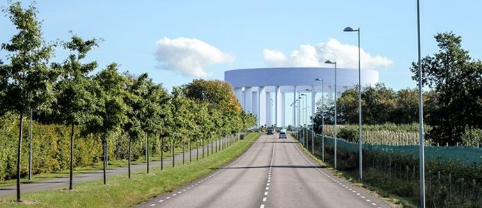 Helsingborgs nya vattentorn