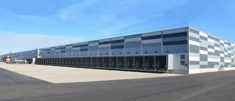 Lidl logistikcenter i Rosersberg
