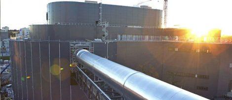 Fortum Värmes nya biokraftvärmeverk