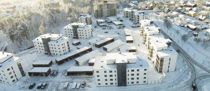 Brf Sandåkern 1 i Umeå