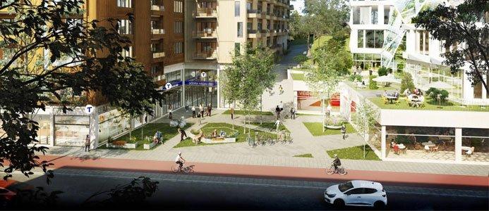 Nya kvarter vid Solnavägen