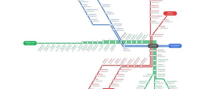 Tunnelbanekarta