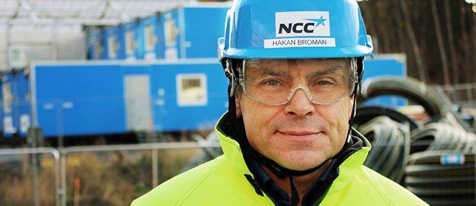 Håkan Broman, Acting vd, NCC.