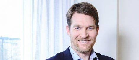 Henrik Örneblad blir ny VD för Huddinge Samhällsfastigheter. Foto: Sauman Ng