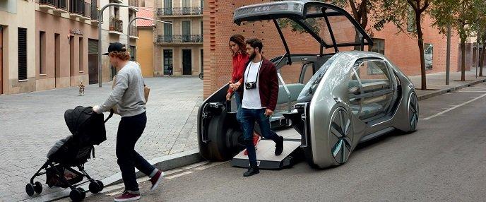 Renault visar nytt koncept på bilsalongen i Géneve. Foto: Renault