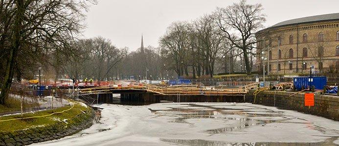 Vasabron över Vallgraven i centrala Göteborg.