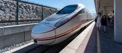 Höghastighetståg i Spanien
