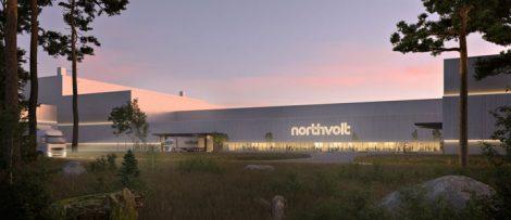 Northvolt batterifabrik Västerås