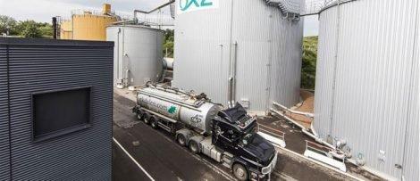 Biogasanläggningen i Helsingborg
