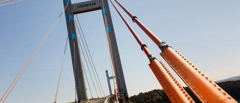 Broarbete på Tjörnbron